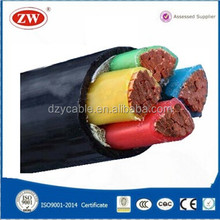 600v XLPE insulated PVC Sheathed 95mm Copper Cable