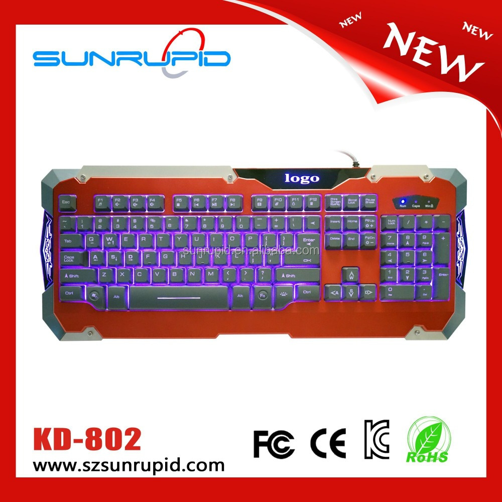 Promote Sale Cheap USB/PS2 Keyboard Wired Computer Keyboard for PC and Laptop