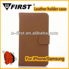 For samsung galaxy s5 case galaxy s5 cases Retro leather golden