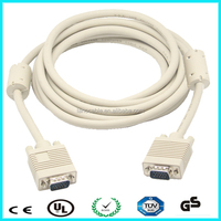 New premium rohs approved vga to vga cable