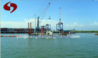 sand pumping ship with dredging depth 14m