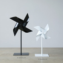 Decorative Mini Windmill-galvanized metal sculptures