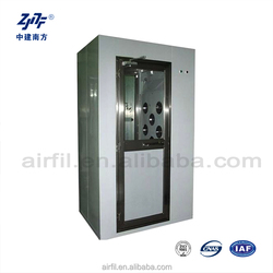 stainless steel air shower for clean room from gold manufacture