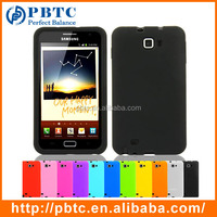 Set Screen Protector And Case For Samsung Galaxy Note I9220 , Wholesale Mobile Phone Silicone Case