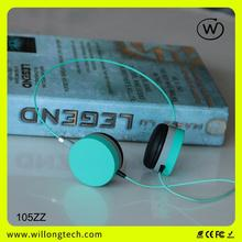 chocolate fashion earphone cute headphone high quality headphone for smartphone