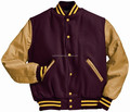 Custom Satin Varsity Jackets Supplier / Letterman Varsity Jackets ,College Jacket From Pakistan, Wool & Leather Varsity Jackets