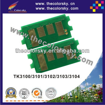 (TV-TK3100) laser printer toner reset chip for KYOCERA FS-2100D FS-2100DN FS-2100 TK 3100 3101 3102 3103 3104 12.5k BK