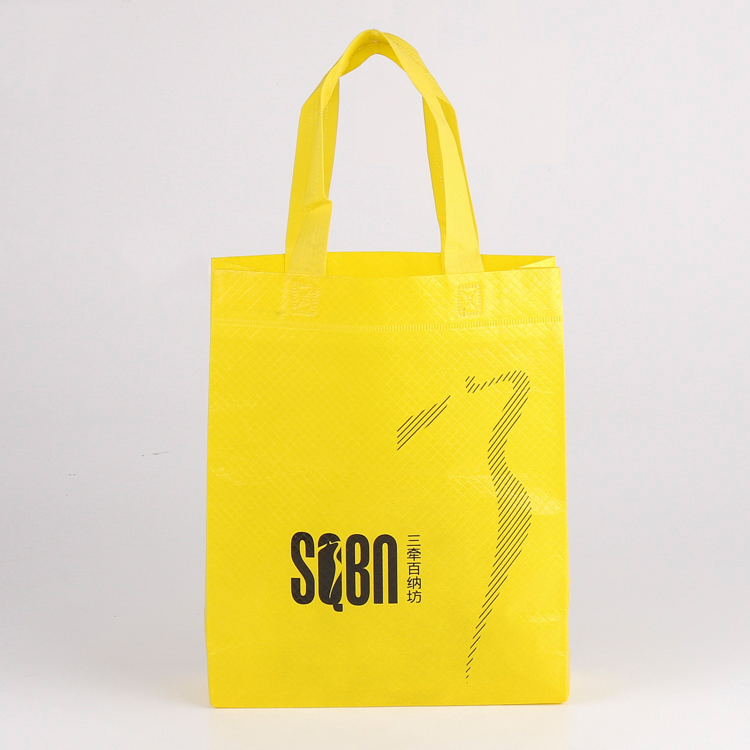 Hot selling laminated no woven bag for shopping
