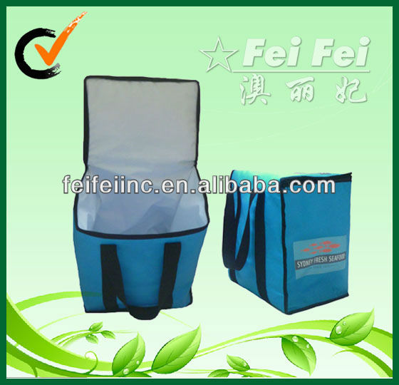 Reusable Eco-friendly Insulated Fish or Fruits Delivery Cooler Bag