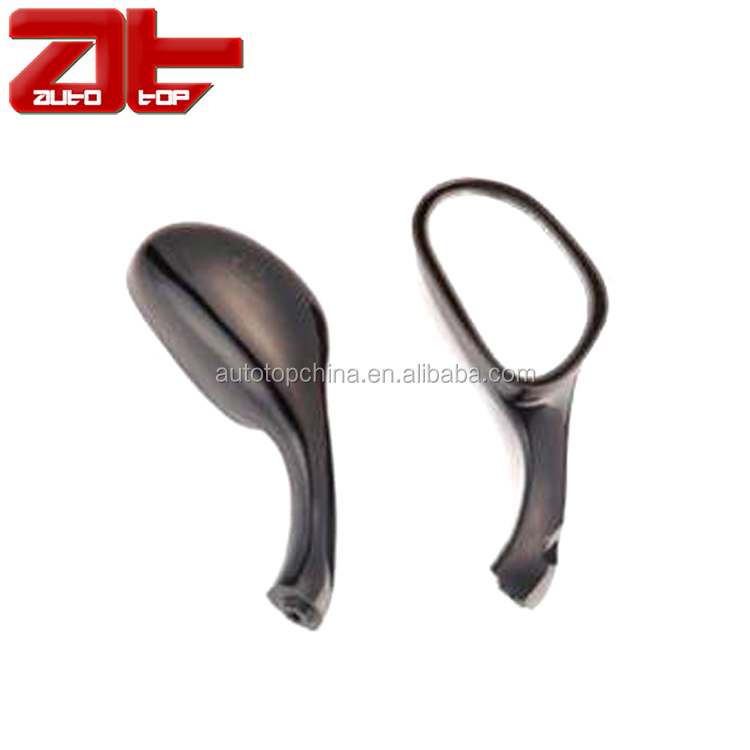MTB Side Motorcycle End Mirror,Bar Mirrors Black for Motorcycle