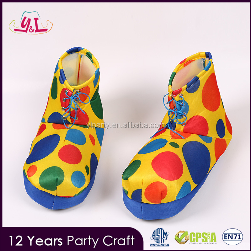 Fancy Ladies Suits Joker Costume Oversized Clown Shoes For Carnival
