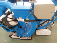 Horizontal Movable Road Surface Shot Blasting Cleaning Machine / wheel Abrator