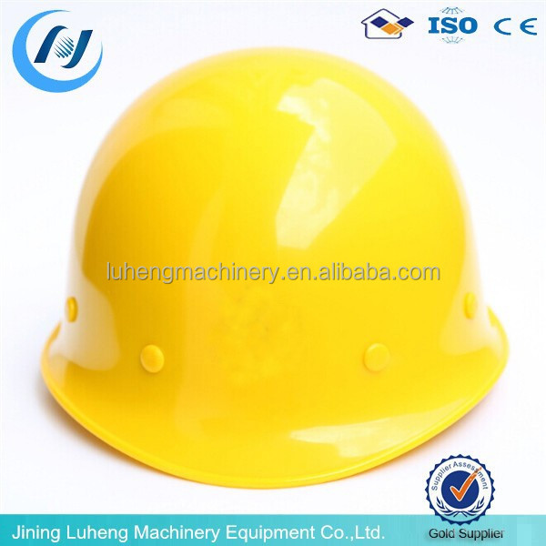 shock resistant extrusion engineering safety helmet