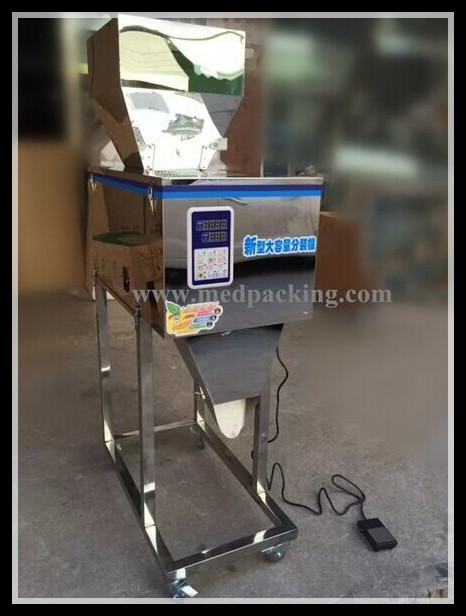 100-2500g Weighing and Filling Machine for Powder or Particle or Bean or Seed or Tea