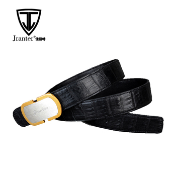 High Quality Adjustable Genuine Crocodile Leather Belts For Men