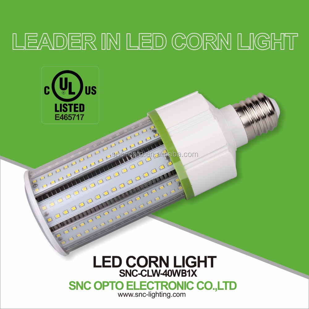 40w High luminous led corn light 40w LED corn light, LED corn bulb, corn LED light