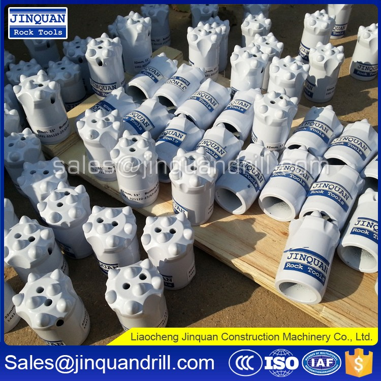 Competitive Price drill bit making machine / r32 thread button bit in factory