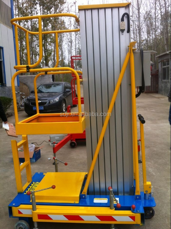 hydraulic aluminum alloy aerial woking lift