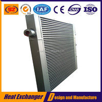 aluminum heat exchanger core