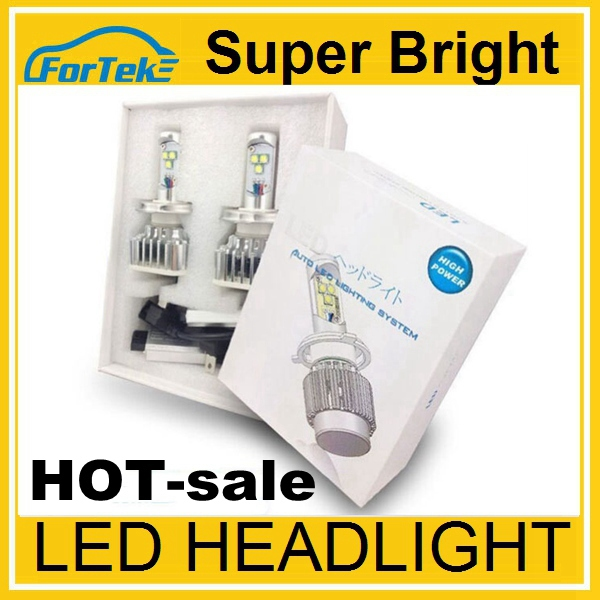 Amazing light source! CREE XM -<strong>L2</strong> ALL IN ONE model h7 led car headlight