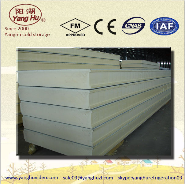lightweight fireproof pu cement structural insulated panel