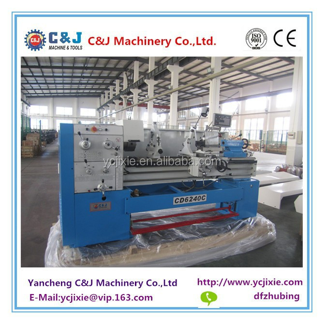 CD6240C CD6250C CD6260C Gap bed big bore high quality lathe metal machine