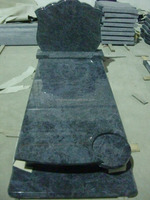 Carving granite tombestone ,India blue orion granite tombstone, granite monument, Gravestone,Blue