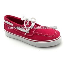 new mens canvas look casual smart loafers
