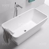 Composite stone bathtub resin terrazzo bathtub kingkonree bathtub