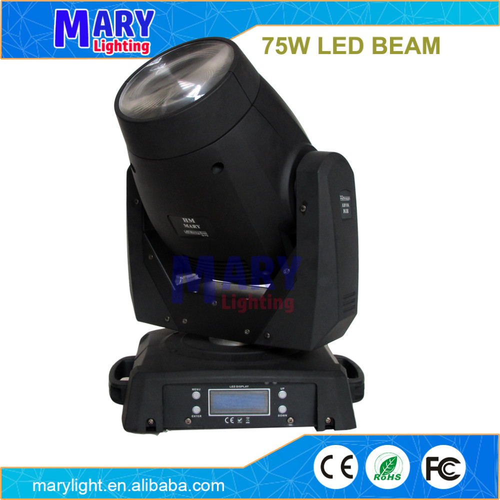 professional DJ lighting LED moving head light 75w LED Beam light