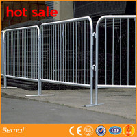 Online Shopping Temporary Fence Crowd Safety Steel Concert Barricade