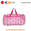 "High Fashion Print Gym Bag Dance Travels Duffles Bags 21""Size For Man And Woman"