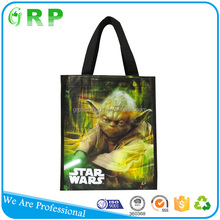Fashion design promotion recycle foldable printing polypropylene woven bag
