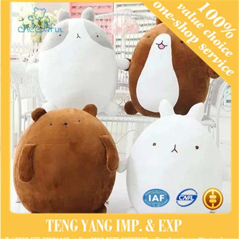 super cute rabbit molang potatoes bear plush toy doll, female valentines day gifts molang rabbit plush toy plush doll
