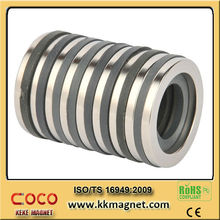 customized 42sh ring shape neodymium magnet with rohs for magnet motor free energy