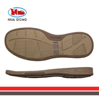 Sole Expert Huadong,TPR man causal soles for shoes for sale