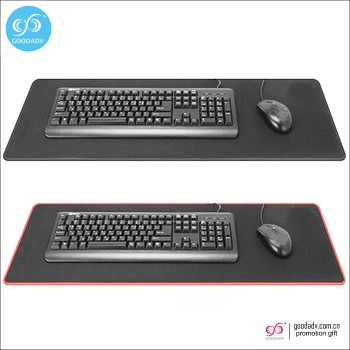 New promotional cheap gift large rubber gaming mouse pad