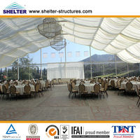 Wonderful waterproof wedding hall/tent with air condition in SHELTER