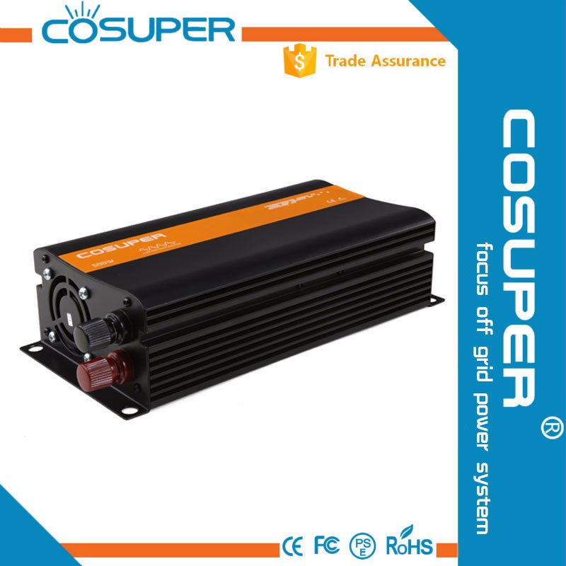 high frequency pure sine wave 12v to 220v car inverter 300w