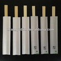 color printing paper wrapped disposable twins bamboo chopstick manufacturer