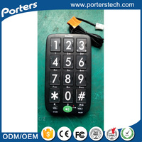 China Wholesale Merchandise Corded Telephones , Big Button Cordless Phone