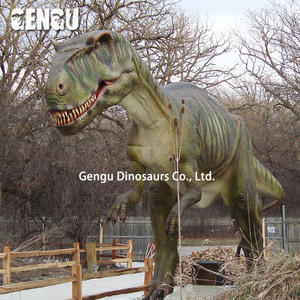 Amusement park animatronic robotic dinosaur toy for sale