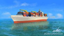 sea freight and sea shipping from shenzhen to Odessa/Ukraine