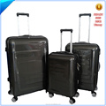 hard 3pcs set ABS pc trolley luggage