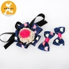 Decorative bowknot dog collar for dog dog collar extenders