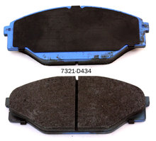 Auto spare parts 04465-23040 brake pad for TOYOTA HIACE RZH104 brake pad manufacturer