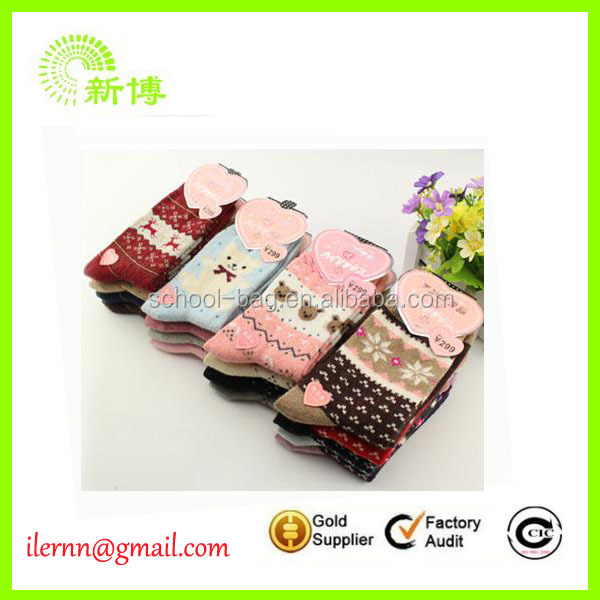 Wholesale Promotional Christmas Socks