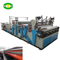 Promotional rewinding and punching toilet roll paper machine