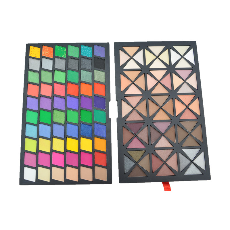 wholesale hot selling New Pro 120 Color Warm Matte Mixed makeup eyeshadow palette