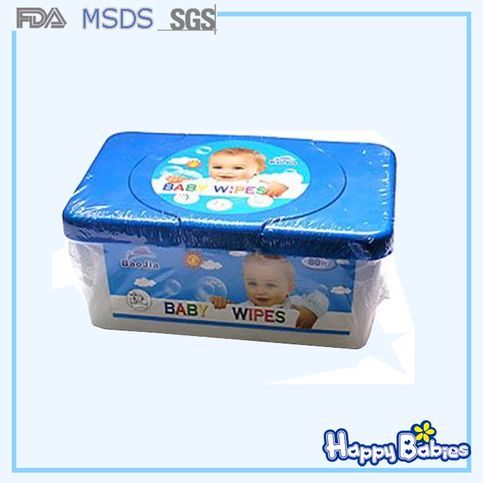 OEM Disposable baby cleansing wet wipe baby skin care tissue
